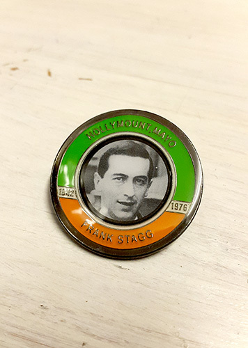 Frank Stagg Badge