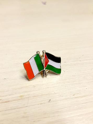 Palestine Flag Badge