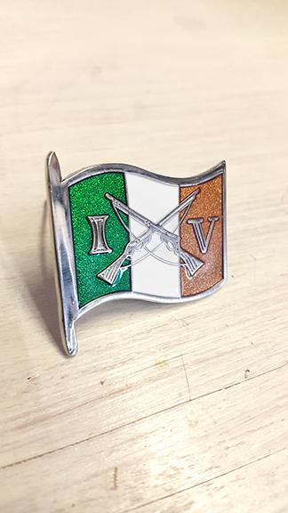 Irish Volunteers Flag Badge