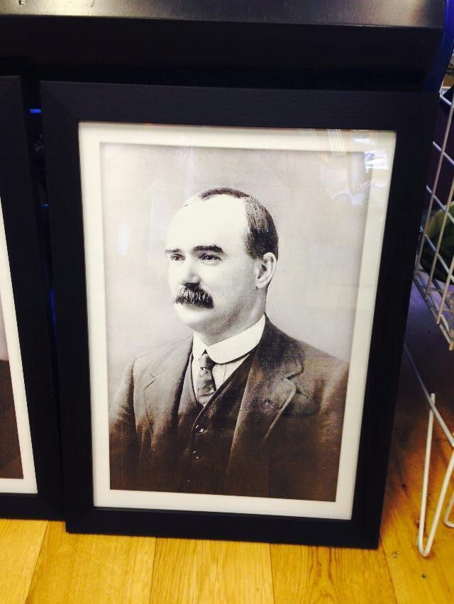 James Connolly Framed Poster