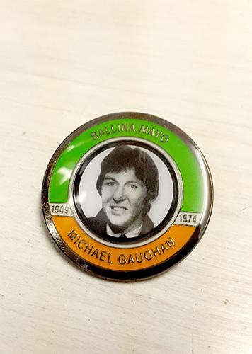 Michael Gaughan Badge