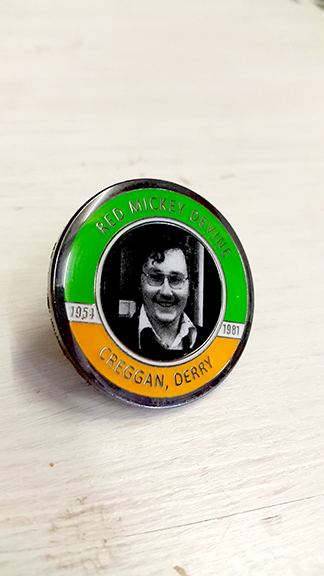 Mickey Devine Badge