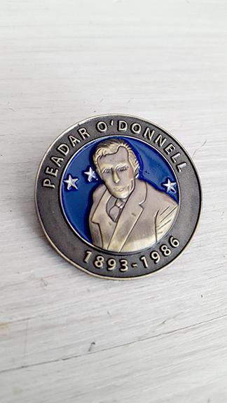 Peadar O'Donnell Badge