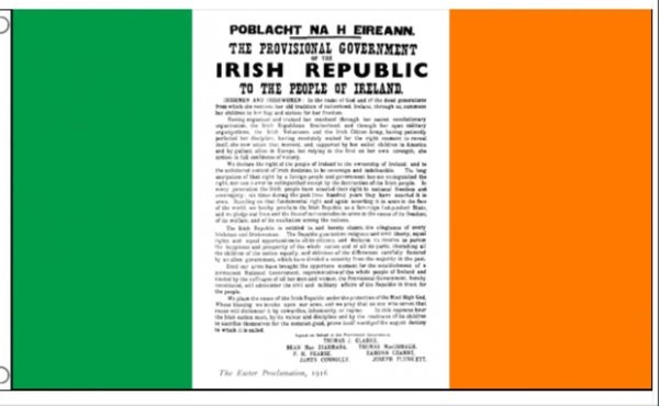 Proclamation Tricolour Flag