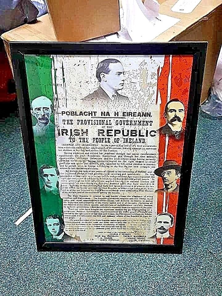 Proclamation Framed Poster