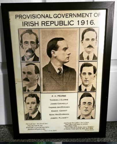 Provisional Government Framed Poster