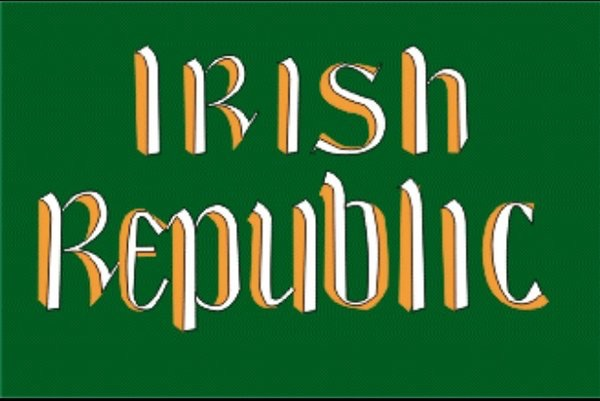 1916 Irish Republic Flag
