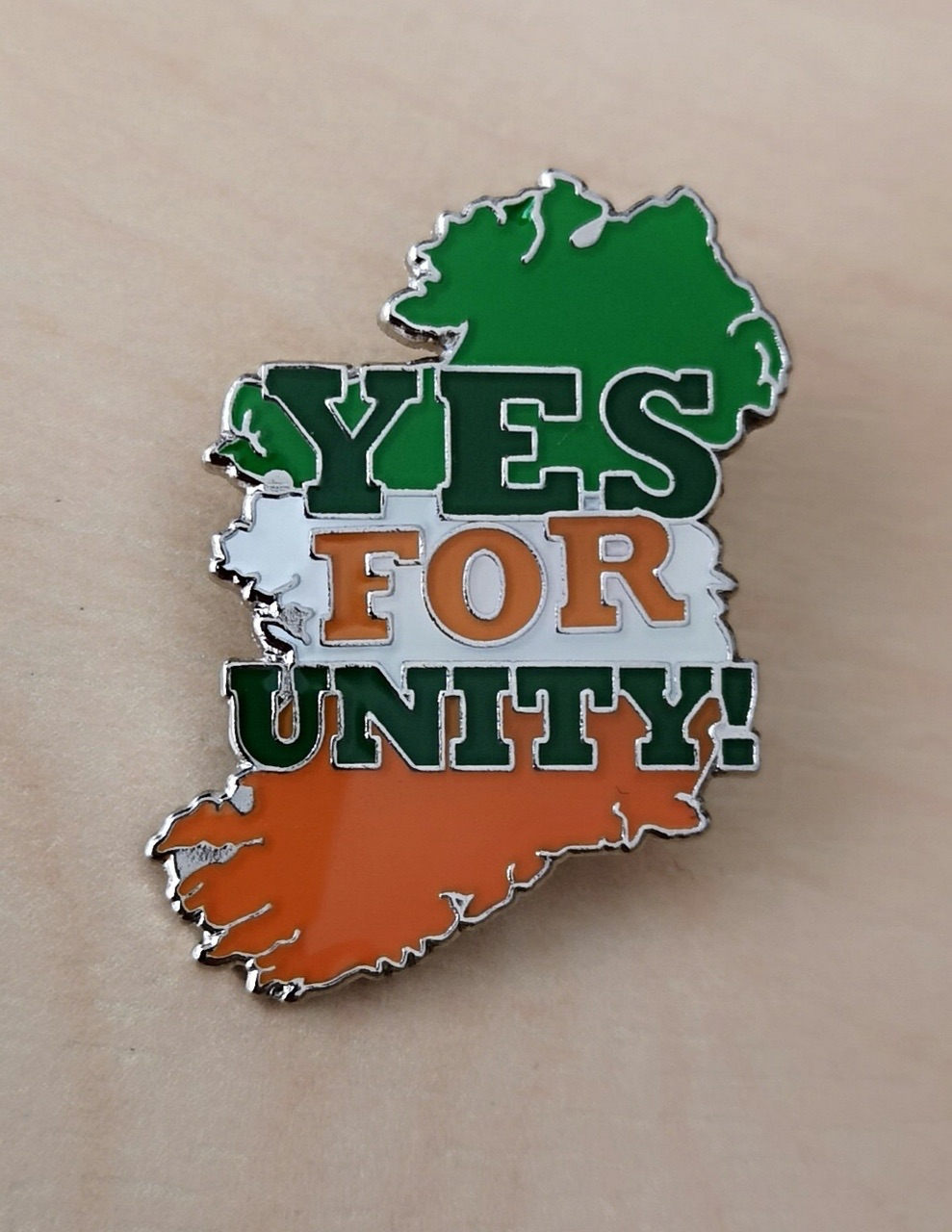 Yes for Unity Badge